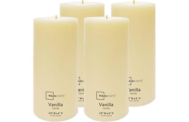 Bougies parfumées à la vanille
