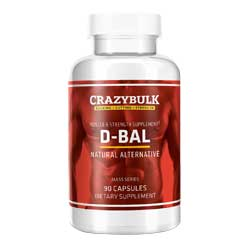 crazybulk d-bal (dianabol) flacon