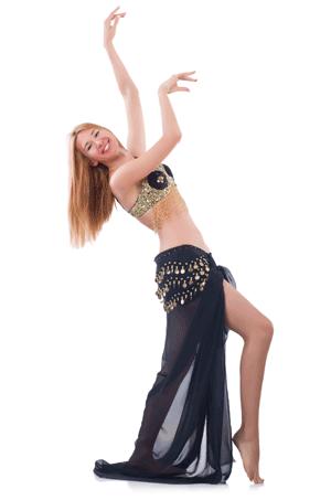 fille danse la danse du ventre
