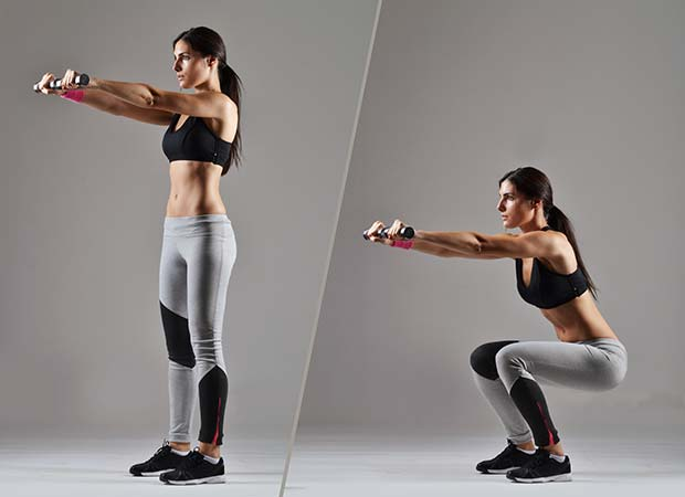 flexions des jambes