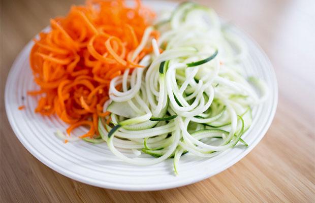 légumes spiralisés