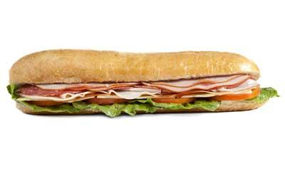 Long et-délicieux sandwichs