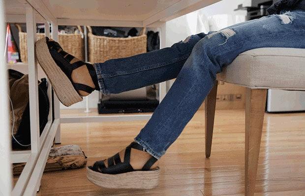 levées de jambe