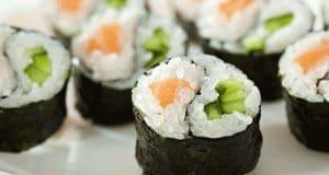 yin yang maki sushi