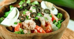 Salade de thon de la Méditerranée