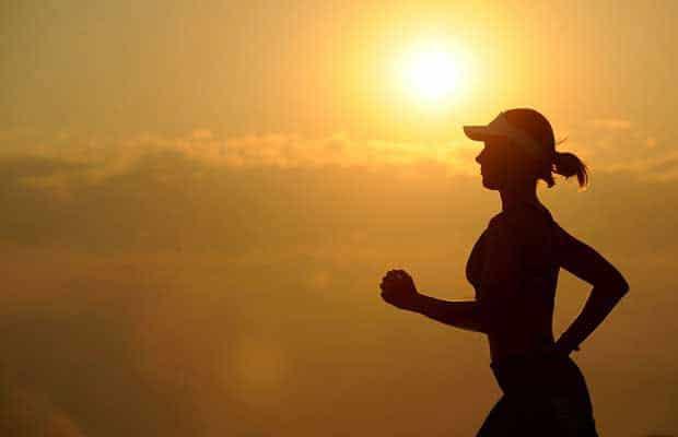 femme courir longue distance