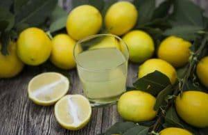 verre de limonade maison