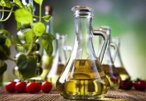 Carafe d'huile d'olive
