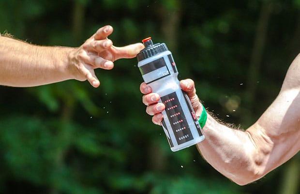 athlète eau potable